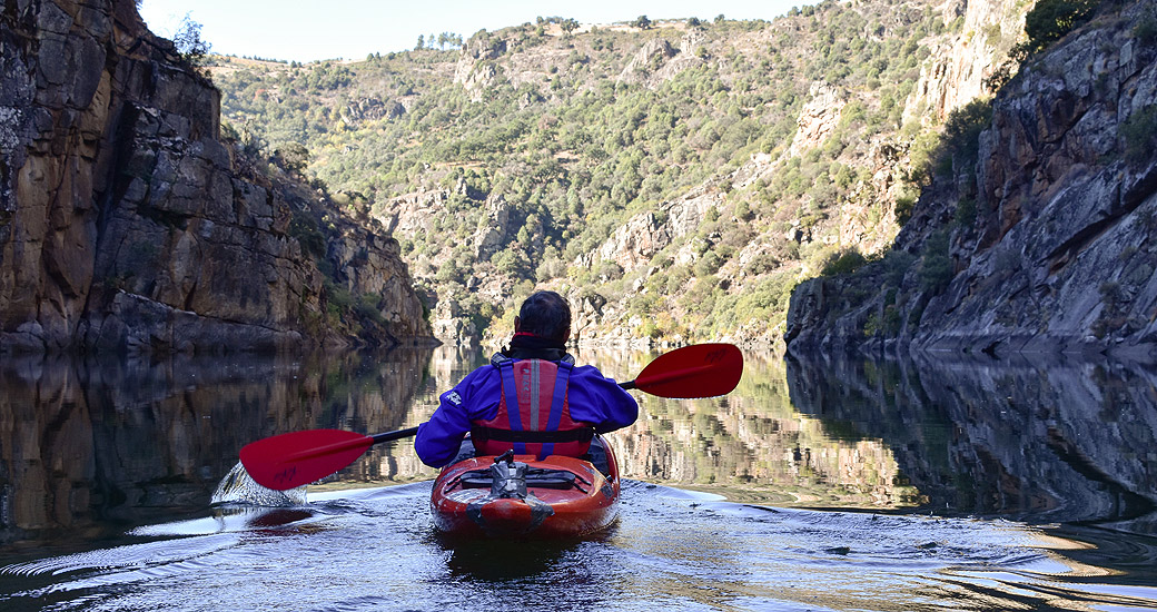 Río Duero en piragua